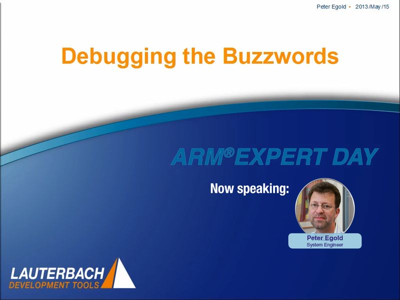 arm-expert-2013_peg_debugging-buzzwords